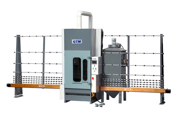 GPS25 Automatic glass sandblasting machine